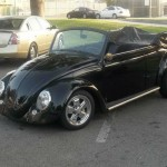 1970 VW Beetle Bug Convertible