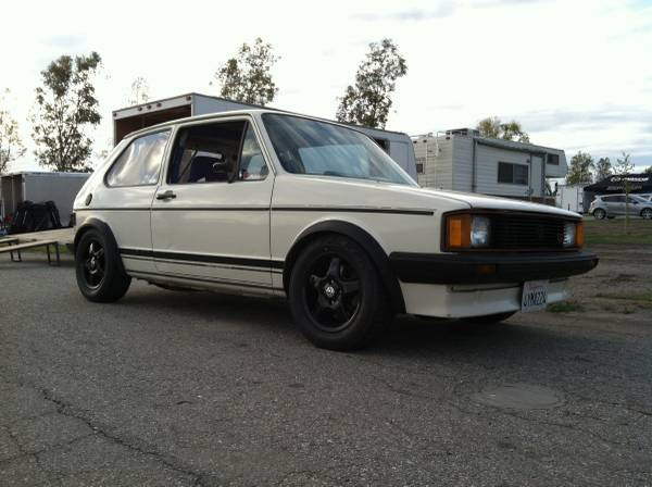 1984 VW Rabbit GTI 2.0L 16V