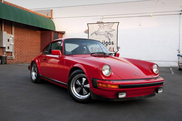 Always Garaged 1983 Porsche 911SC