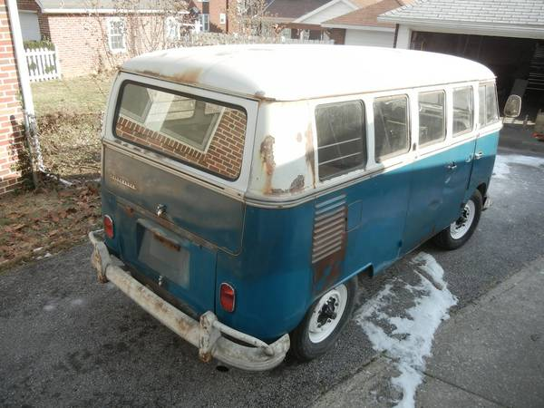 Project, 1967 Volkswagen 13 Window Deluxe Bus