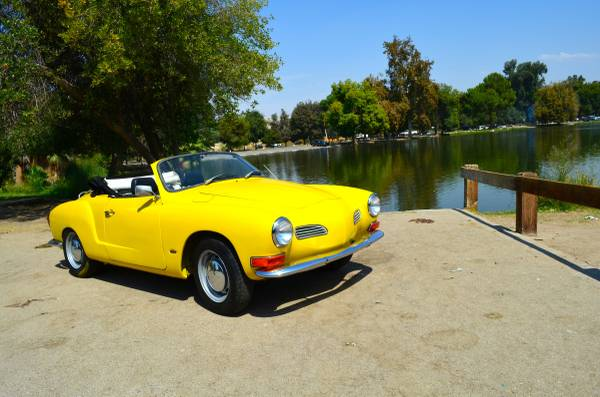 1971 VW Karmann Ghia Convertible