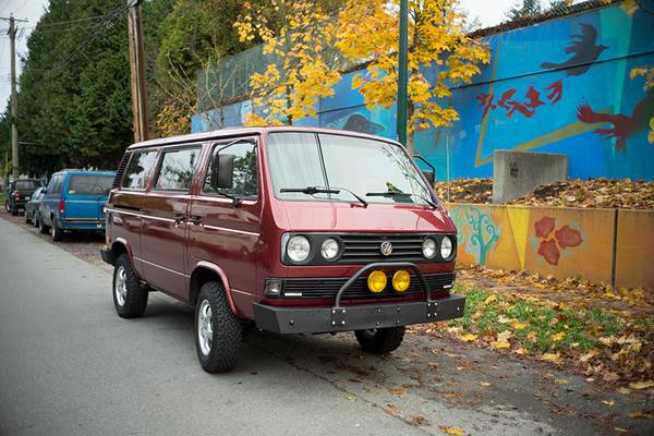 1987 Syncro Vanagon Subaru Engine