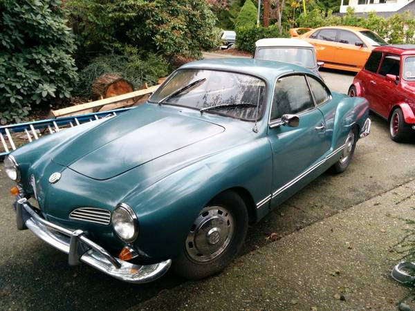 Clean and Good, 1967 VW Karmann Ghia