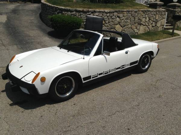 Great Christmas gift, 1974 Porsche 914