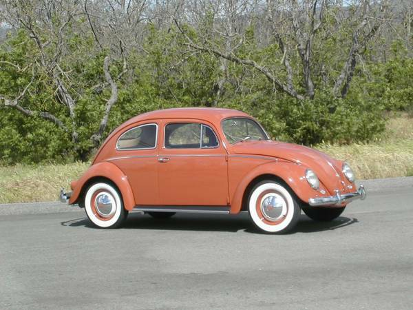 For Sale 1957 VW Bug Oval Window