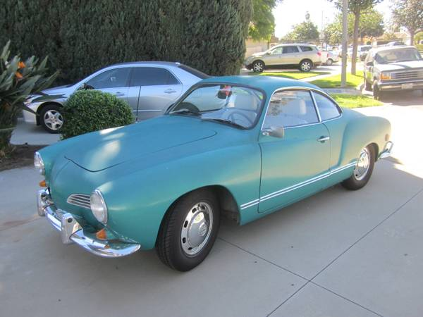 Great Condition 1969 VW Karmann Ghia
