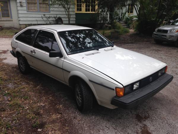 1987 VW Scirocco for Sale
