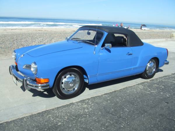 1972 VW Karmann Ghia Convertible