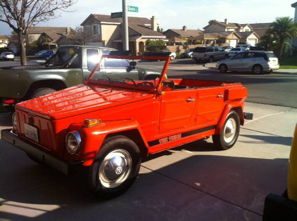 1974 VW Thing for sale in san diego