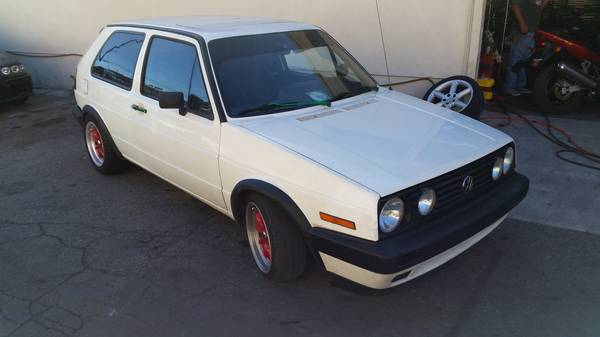 Had Restored, 1985 Volkswagen GTI