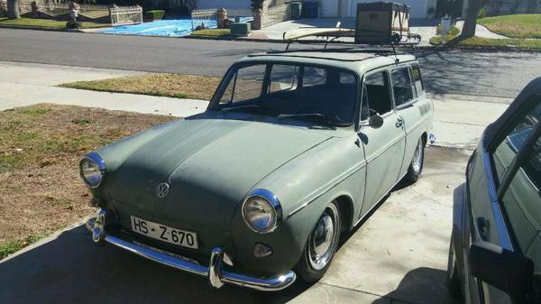1967 Volkswagen Squareback for Sale