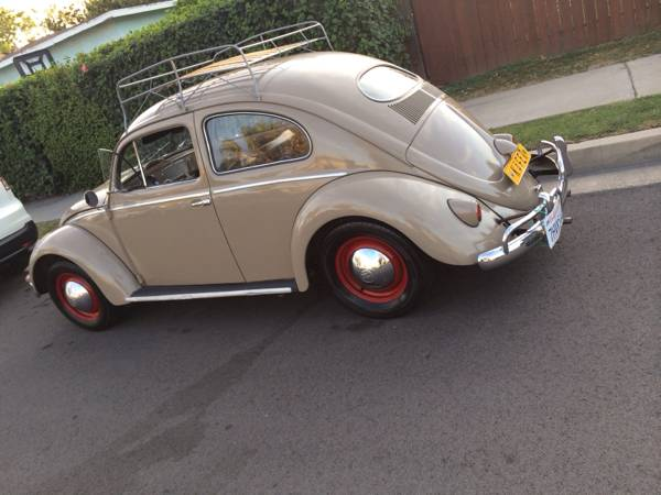 Original 1957 VW Oval Bug